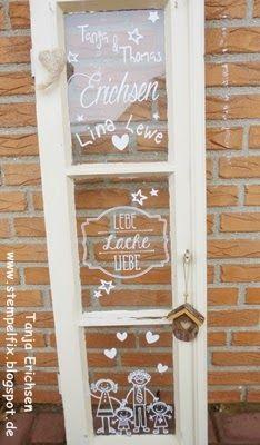 Stempelfix: Lebe Lache Liebe... vom Stempel zum Plotterbild :)