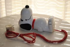 Vintage Snoopy Phone made in the 1980s made by by vintagefinds61, $29.00