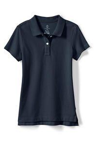 School Uniform Short Sleeve Fem Fit Mesh Polo