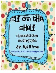 FREE ELF ON THE SHELF ACTIVITIES - TeachersPayTeachers.com