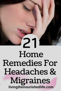Looking for headache relief? You're in the right place. I've put together a list of home remedies for headaches that will help ease away the pain - and you probably already have everything you need…More Migraine Home Remedies, Home Remedy For Headache, Home Remedy For Cough, Natural Headache Remedies, Natural Health Remedies, Herbal Remedies, Home Remedy For Migraines, Natural Headache Relief, Headache Cure
