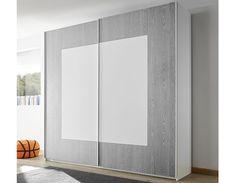 Armoire design grise et blanche NATHEO 4 Armoire Design, Wardrobe Design, Divider, Room, Furniture, Home Decor, Bedroom, Decoration Home, Room Decor