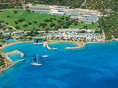 Porto Elounda Golf and SPA Resort hotels Elounda Lassithi Crete Greece Hotels And Resorts, Best Hotels, Luxury Resorts, Travel The World For Free, Fine Hotels, Crete Greece, Luxury Accommodation, 5 Star Hotels, Resort Spa