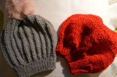 Il mio Mondo: due semplici cappellini da realizzare a maglia: la...