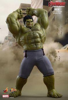 Pre-Order Hot Toys Marvel Avengers Age of Ultron Hulk Deluxe Set Marvel Avengers 2, Marvel E Dc, Marvel Films, Age Of Ultron, Hulk 1, Red Hulk, Die Rächer, Hulk Smash, Batman Vs Superman
