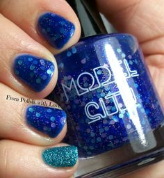 Model-City-Polish-April-Showers-China-Glaze-Seahorsin'-Around