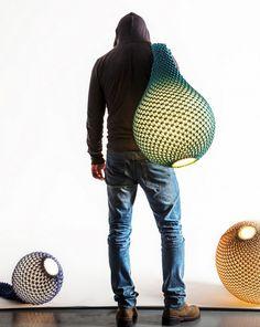 BLOG DECO DESIGNLampes Knitted par Ariel Zucherman et Oded Sapir - BLOG DECO DESIGN