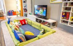 Aproveite ideias da Casa Cor no quarto das crianças e dos adolescentes Playroom Design, Kids Room Design, Interior Design Living Room, Playroom Ideas, Childrens Bedroom Ideas, Ikea Kids Playroom, Indoor Playroom, Children Playroom, Kids Bedroom Designs