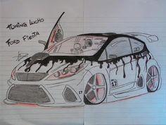 karakalem modifiyeli arabalar-Tuning-Cars-Araba-Girls-Kız-Otomobil-Modifiye