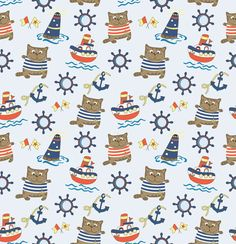 Browse through Damaratskaya_Alena's portfolio of stock images and videos for sale on iStock today. Pattern Images, Vector Pattern, Baby Scrapbook, Fabric Wallpaper, Printable Paper, Navy And White, Projects To Try, Miniatures, Clip Art
