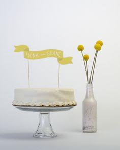 cute cake topper #wedding #cake