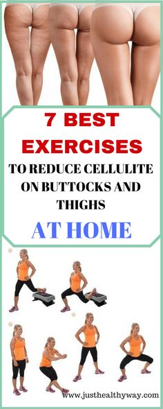 Here are the seven best strength training exercises to reduce cellulite. They focus on the most cellulite-prone