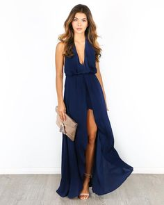 This year we are all about the maxi romper! Our gorgeous Into My Love Maxi Romper is a chic statement piece, perfect for honeymooning, tropical getaways and date nights! The chic style is defined with