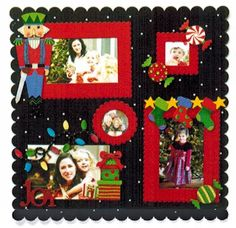 Embellish Your Story Holiday Magnets at Fiddlesticks