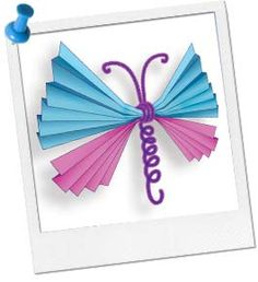 Spring - Origami Butterfly - Also could adjust to work with Valentine's