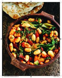 Butter bean mezze dish from cook book Rick Stein: From Venice To Istanbul