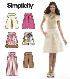 Simplicity 2656 - Google Search Dresses For Work, Summer Dresses, Simplicity Patterns, Sewing Patterns, Sewing Ideas, New Look, Trousers, Vogue, Knitting