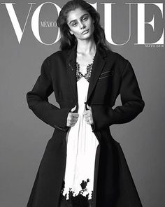 Taylor Hill by Terry Tsiolis for Vogue Mexico May 2016 Covers - Celine Spring 2016