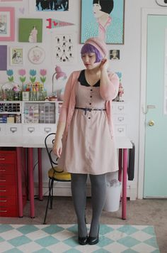 Scathingly Brilliant: outfit posts - I like the dresses and sweaters. I should try ...