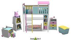 Around the Sims 4 | TamTam Bedroom