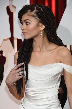 Zendaya's Dreadlocks at the Oscars 2015 | POPSUGAR Beauty