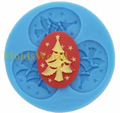 A063 Chritmas tree  Cameo Cabochon 1 Cavity Flexibl Silicone Mold Mould for Crafts, Jewelry, Scrapbooking, (resin, Utee, pmc, polymer clay) on Etsy, £2.43