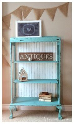 A Fresh Start... With General Finishes Chalk Style Paint - Recreated Designs