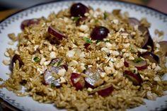 Aga gotuje - sałatka curry ryżowo-winogronowa  www.recookin.blogspot.com