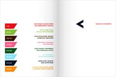 30 sample table of contents design for inspiration. You could create an entire theme from one of these.