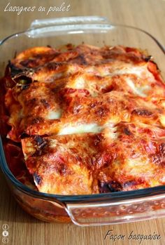 Basque style chicken lasagna Source by Diner Recipes, Gourmet Recipes, Snack Recipes, Cooking Recipes, Food Is Fuel, Dinner Recipes For Kids, Winter Food, Food Photo, Polenta