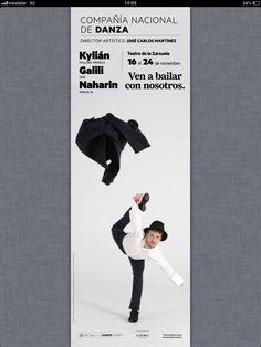 Cartel teatro CND nov 2013