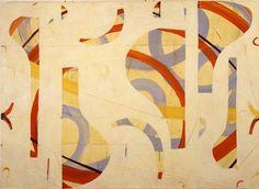 Caio Fonseca, Pietrasanta Painting C03.55, 2003; Mixed Media on canvas; 52 x 72 inches; Courtesy Caio Fonseca Studio