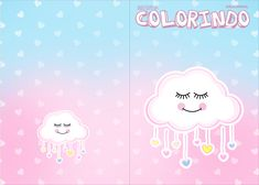 Uau! Veja o que temos para Revista Colorindo Chuva de Amor Cute Wallpapers, Hello Kitty, Alice, Character, Silhouette Projects, Pasta, Internet, Games For Baby Shower, Baby Elephants