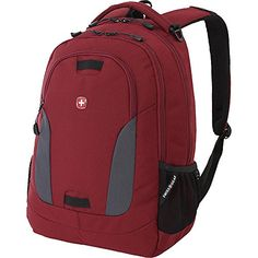 SwissGear Travel Gear SA6907 Laptop Backpack Crimson Paddle Grey Tim >>> Find out more about the great product at the image link.