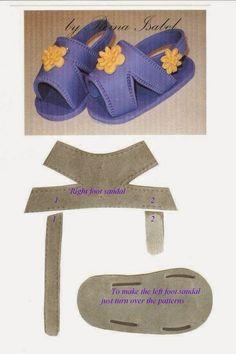 Oiiii, Tudo bem????           Hoje quero compartilhar com você alguns modelinhos de sapatinhos/sandalinhas para dar de presente, vender...