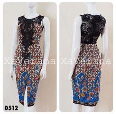 Blouse Batik, Batik Dress, Ankara Dress, African Dress, Simple Dresses, Pretty Dresses, Dress Batik Kombinasi, Mode Batik, Batik Fashion