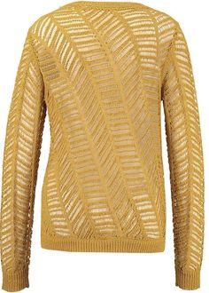 Garcia Gul Sweater E70042 Ladies Pullover - ochre yellow
