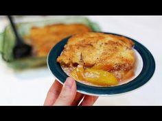 Easy Amazing Peach Cobbler : Video Tutorial