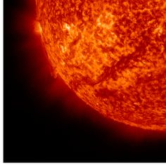 An interesting site showing the sun's activity and solar flares. Helioviewer.org - Solar and heliospheric image visualization tool