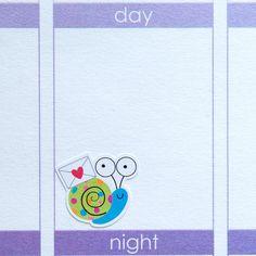 Snail Mail RAK Happy Mail Snails Stickers | Set of 40 | Erin Condren Life Planners, Plum Paper, Calendars, Scrapbooking
