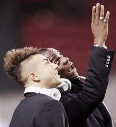 Balotelli and El Shaarawy