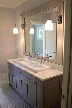 Double Sink Vanity Design Bathroom | interior design | Pinterest ...
