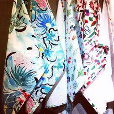 tea towels in Heal's fabrics  #HealsHome