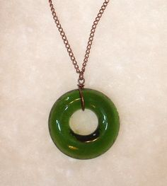 Wine Bottle Necklace repurposed by Garden by GardenDaisiesStudio, $24.00