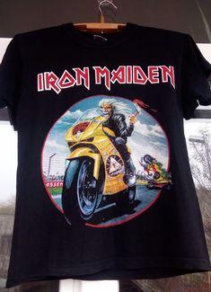 Iron Maiden Somewhere Back In Time World Tour Eddie Dickinson Bruce Small shirt  #TopShirt #GraphicTee