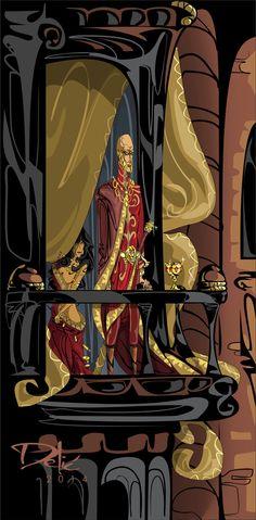 Tywin Lannister by Dejan Delic