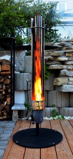 Gas Feuertisch selber bauen mit diesem Einsatz ...