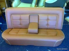 Classic car seat upholstery Car Seat Upholstery, Smart Car, Floor Chair, Love Seat, Car Seats, Classic Cars, Flooring, Furniture, Home Decor