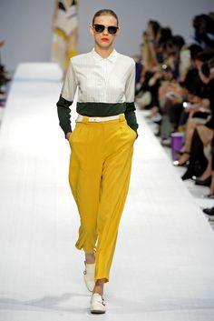 Paul Smith RTW Spring 2013 - WWD.com Mondrian Dress, Knit Shirt, Paul Smith, Fashion Stylist, Couture Fashion, Parachute Pants, Spring Fashion, Fashion Shoes, Ready To Wear