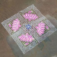 Very easy and love the sikku plus lotus design.